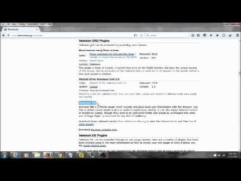 How to install selenium IDE in firefox 44.0.2 , 45.0.1 and up