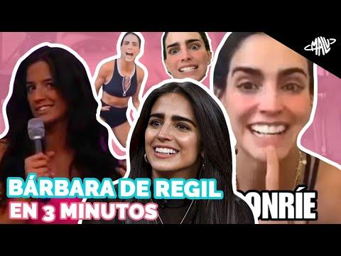 BÁRBARA DE REGIL EN 3 MINUTOS