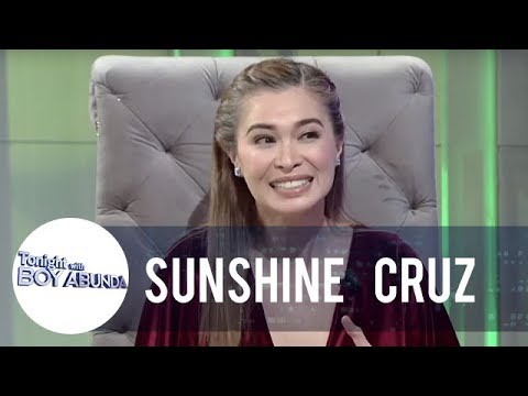 Sunshine Cruz talks about her relationship with her daughters | TWBA