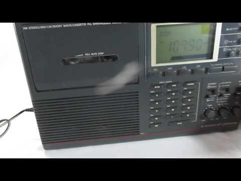 sangean shortwave radio-rising phoenix antiques