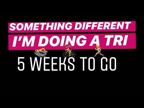 SOMETHING DIFFERENT | I'M DOING A TRIATHLON |WEEK 5