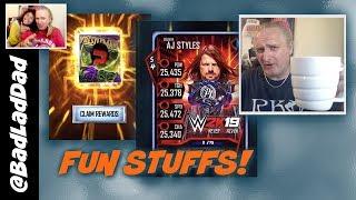 WM34 Fusion Plus AJ Styles RTG : WWE SuperCard S4 Ep87