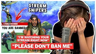 Pokimane RAGE QUITS over Stream Snipers in NEW Arena Mode! Fortnite Duo Fill!