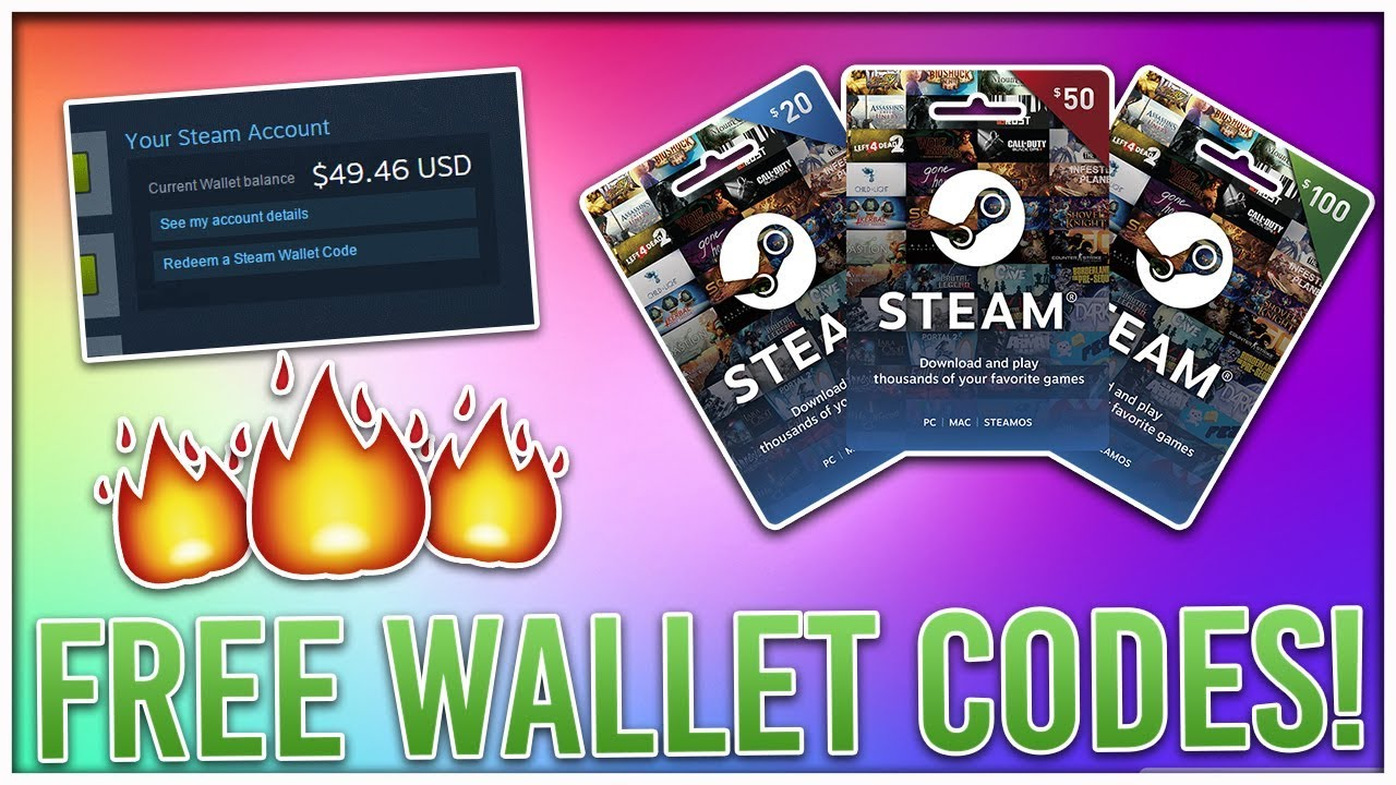 Free Steam Codes How To Get Wallet Working 20 2018 Gametame