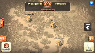 Quick intro. War between the 17 dragon family - Clash of Clans