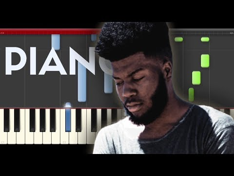 Khalid Talk Disclosure Piano Midi tutorial Sheet app Cover Karaoke