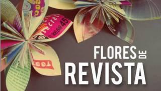 Flores De Revista    // Kusudama Origami