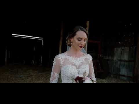 Toowoomba Wedding Video at Private Property