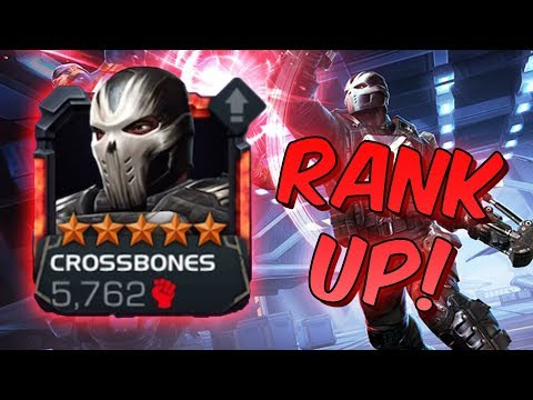 5 Star Crossbones Rank Up & Gameplay! - Marvel Contest Of Champions