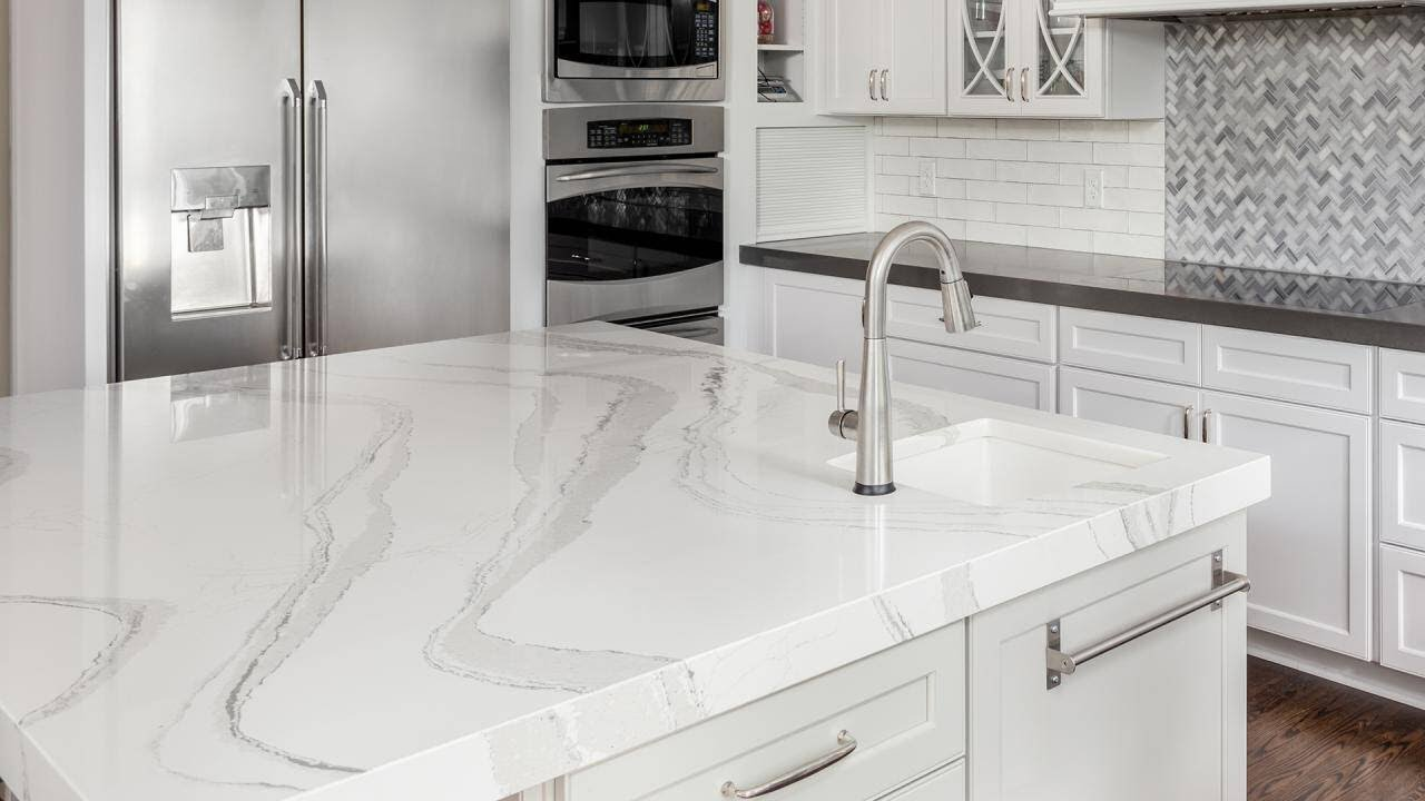 How To DIY Faux Marble Countertops For Under $100, According To a ...