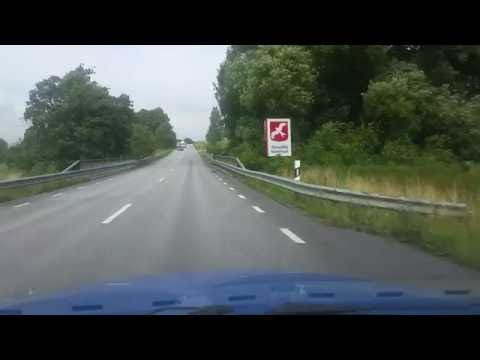 Driving from ystad to tomelilla