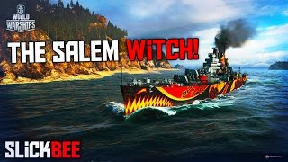 World of Warships The Salem Witch Gameplay! Halloween Event!