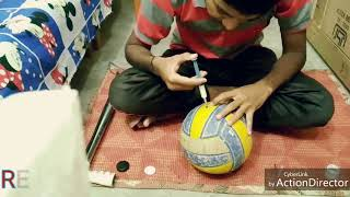 Volleyball Repair    Real Facts   