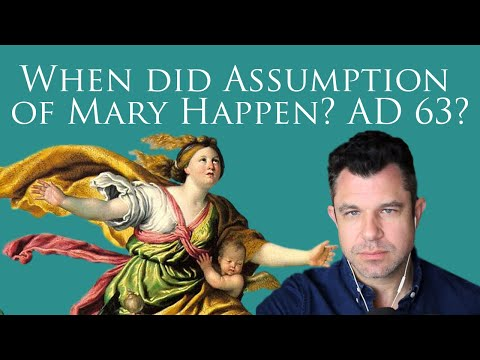 Dr Marshall on Assumption of Mary: Which Historical Year Did it Happen? AD 63?