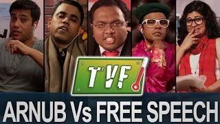 Arnub Vs. Free Speech : News-hour Qtiyapa