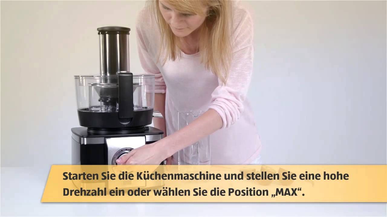 Multifunktionale Küchenmaschine Inkl. Hochwertigem Entsafter (ATDE)