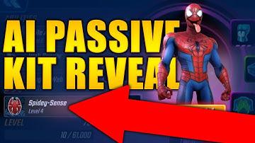 Spider-Man (AI) Passive Kit Reveal - MARVEL Strike Force - MSF