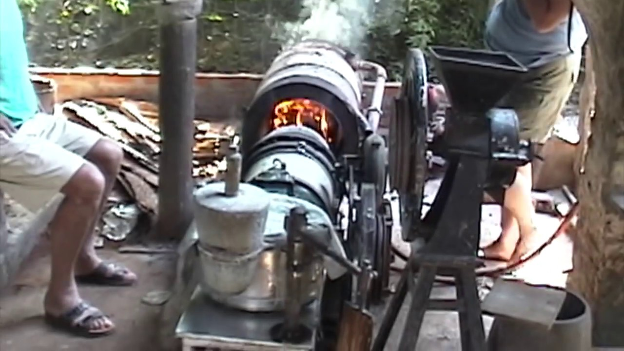 Stirling Technology ST-5 running in Auroville, India