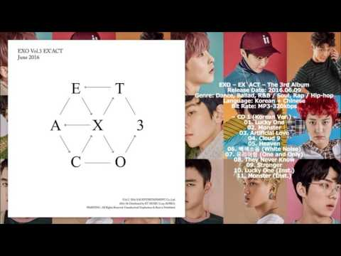 [MP3/DL] EXO - Artificial Love [EX'ACT - The 3rd Album]