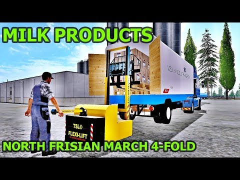 Farming simulator 2017 -  MILK PRODUCTS
