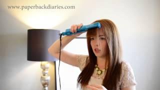 How to straighten bangs