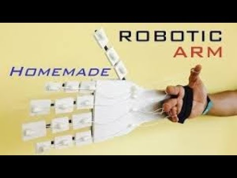 How to Make a Robotic Arm at Home Easy Tutorials - DIY | HS How