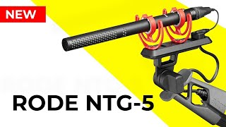 NEW Rode NTG5 Shotgun Microphone Review - Compared to the Rode NTG3