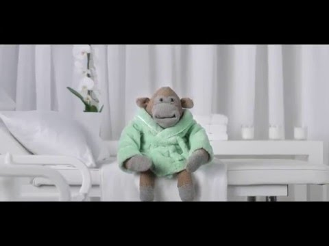 """PG Tips: Monkey Spring Clean Out """"Colonic"""" Advert"""
