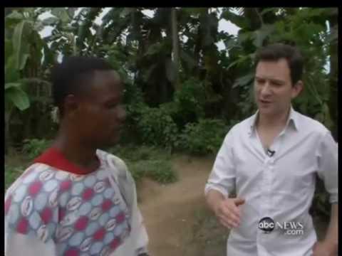 Exorcising Children in Congo, Africa.
