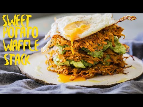 how-to-make-healthy-sweet-potato-waffles-recipe