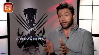 Repeat youtube video Hugh Jackman's Wife Doesn't Like His Wolverine Bod