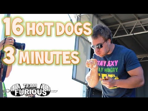 eating-16-hot-dogs-in-3-minutes-at-the-half-moon-drive-in-|-furious-pete