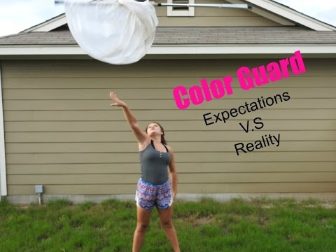Expectations V.S Reality Color Guard