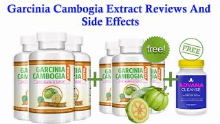 Garcinia Cambogia Extract Reviews And Side Effects