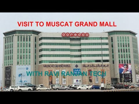 Visit to Muscat Grand mall, hands-on Samsung s8 at sharaf DG
