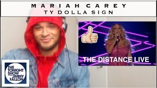 "MARIAH CAREY ft. Ty Dolla Sign - ""The Distance"" Jimmy Fallon (REACTION)"