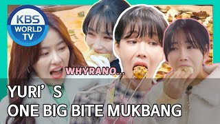 Yuri's One Big Bite Mukbang [Editor's Picks / Stars' Top Recipe at Fun-Staurant]