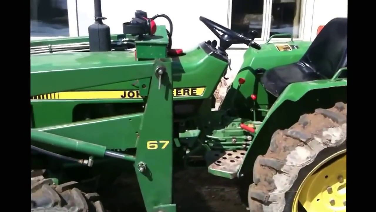 John Deere 750 Hydraulic Oil Youtube 855 Engine Diagram