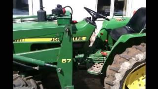 John Deere 750 hydraulic oil