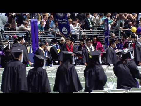 2016 University of Washington Commencement Ceremony