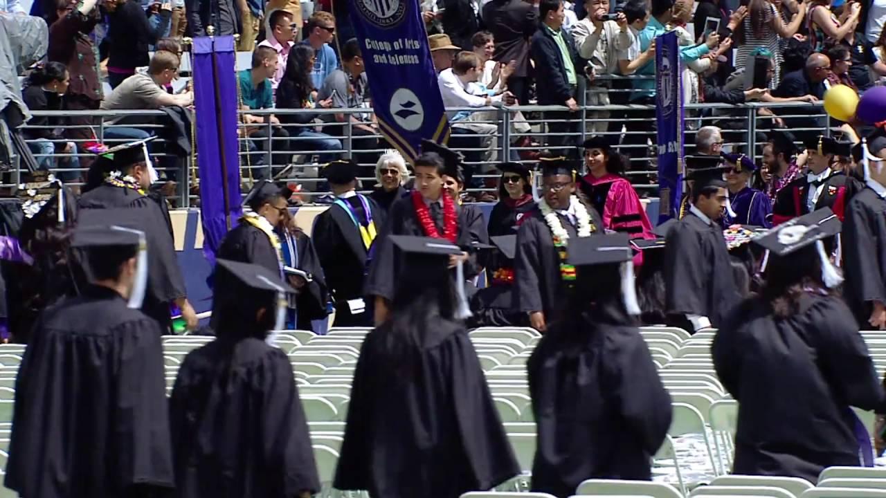 2016 University of Washington Commencement Ceremony - YouTube