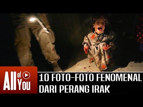 [IRONIS] 10 Foto Foto Fenomenal Dari Perang Irak