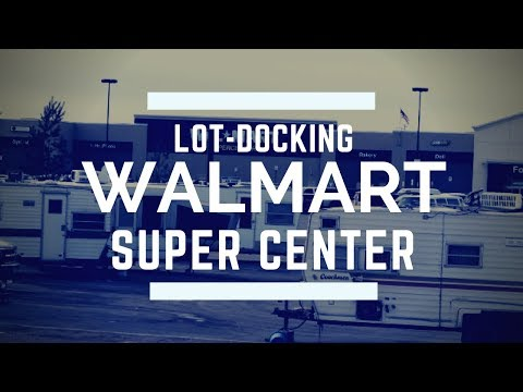 RV Travel Life | Boondocking at Walmart