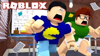 RUNNING AWAY FROM SCHOOL! -ROBLOX