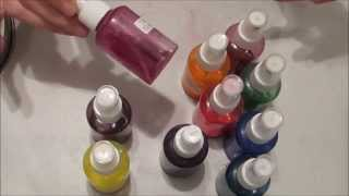 Extensive Inktense Part 2 Sprays