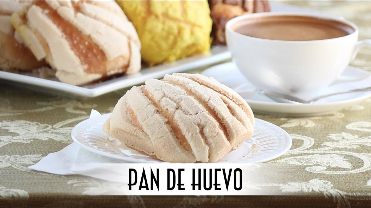 Pan de Huevo - Concha | Mexican Sweet Morning Buns | Straight Dough Method