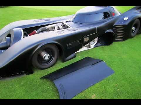 original michael keaton batmobile for sale doovi. Black Bedroom Furniture Sets. Home Design Ideas