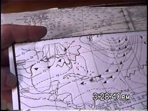 Basic Offshore Weather Dissemination Systems and Weather Routing