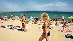 Barcelona Beach of Barceloneta