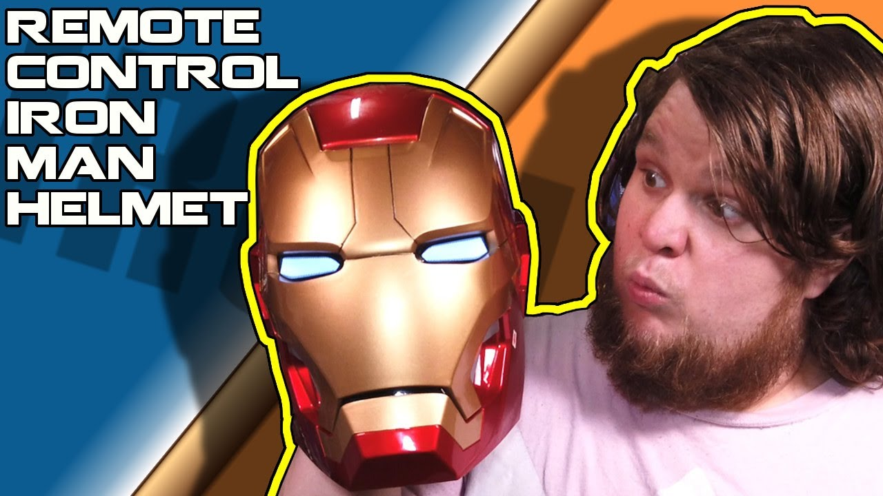 Automatic Opening IRON MAN Helmet that's REMOTE CONTROLLED!